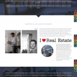 Real estate website copy