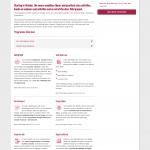 Business school web copy