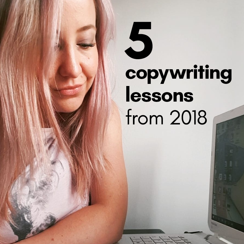 copywriting lessons from 2018
